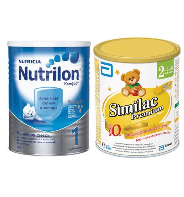Какая детская смесь лучше Нутрилак или Нутрилак Премиум?