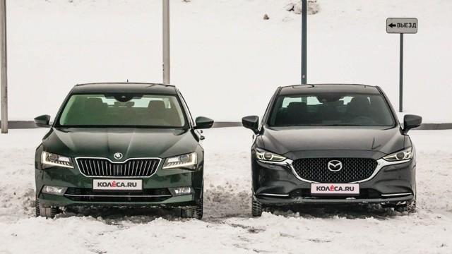 mazda 6 или skoda octavia: сравнение и какой автомобиль лучше