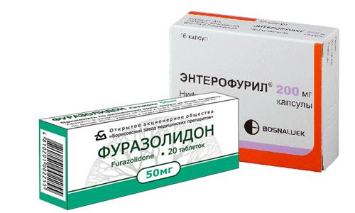 Что лучше Фуразолидон или Энтерофурил и чем они отличаются?