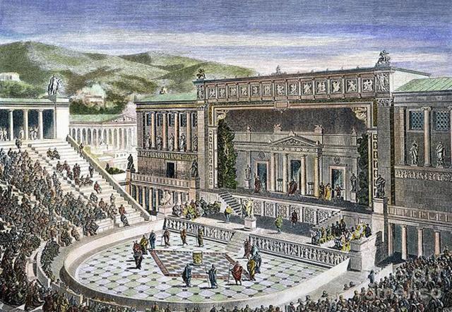 Чем отличается древнегреческий театр от современного