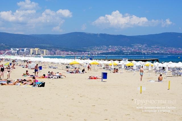 Чем курорт «Золотые пески» отличается от солнечного берега?