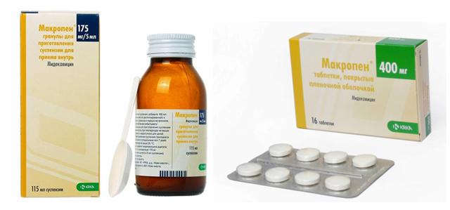 Макропен или Азитромицин — сравнение и что лучше