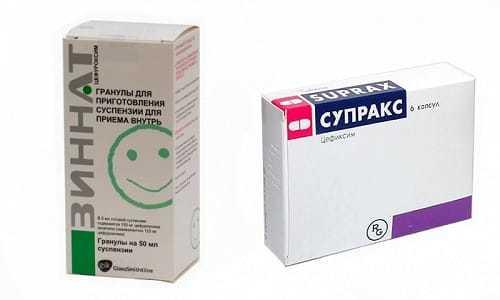 Панцеф и Супракс — сравнение препаратов и что лучше