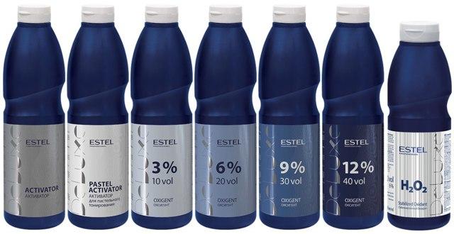 Чем отличаются оксиданты (3%, 6%, 9%, 12%)