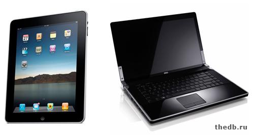 Чем отличается планшет от ноутбука