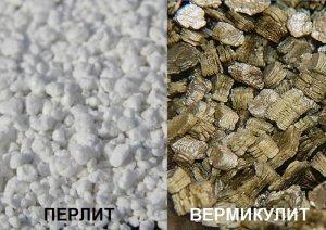 В чем разница между перлитом и вермикулитом