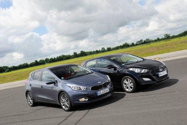 Какой автомобиль лучше kia ceed или hyundai i30?