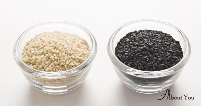 Чем отличается белый кунжут от черного?