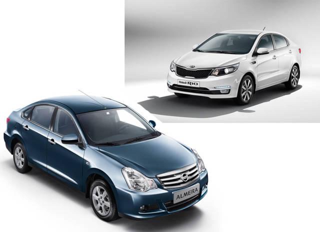 kia rio или nissan almera — какой автомобиль лучше