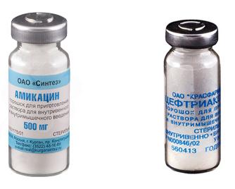 Амикацин или Цефтриаксон: сравнение средств и что лучше принимать