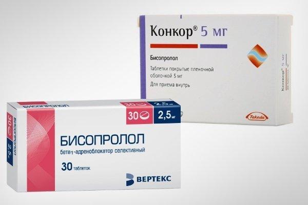 Что лучше выбрать Конкор или Бисопролол?