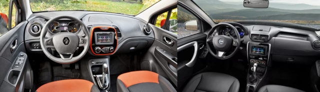 Какой автомобиль лучше nissan terrano или renault kaptur?