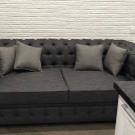 Какую мебельную ткань лучше выбрать рогожку или велюр?