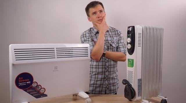 Конвектор или масляный обогреватель: сравнение и что лучше выбрать
