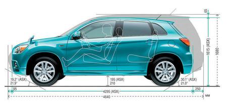 Какой автомобиль лучше купить mitsubishi asx или mitsubishi outlander