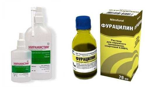 «Фурацилин» или «Мирамистин» — сравнение средств и что лучше