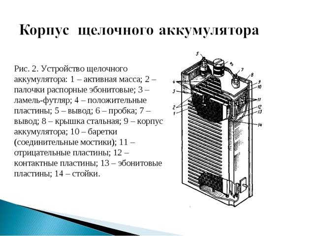 Чем щелочной аккумулятор отличается от кислотного?