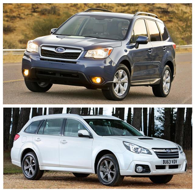 subaru outback и forester: что лучше и какой автомобиль выбрать