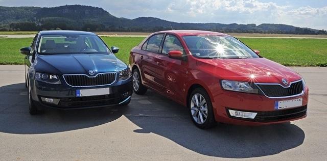 Какой автомобиль лучше купить skoda rapid или toyota corolla?