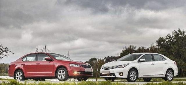 Шкода Октавия или Тойота Королла — сравнение автомобилей и что лучше
