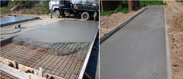 Какое покрытие лучше бетон или тротуарная плитка?